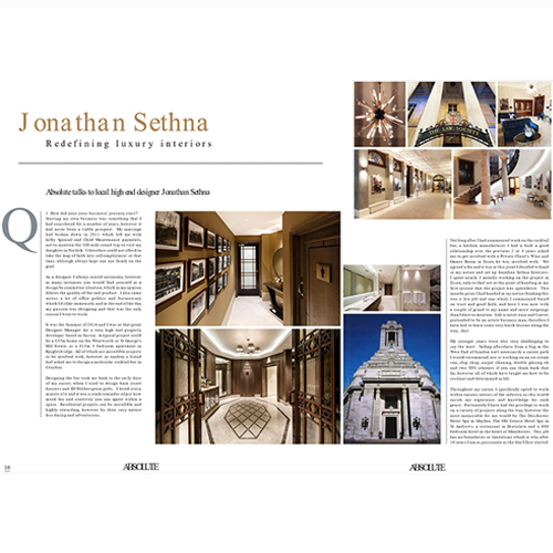 Jonathan Sethna Interiors